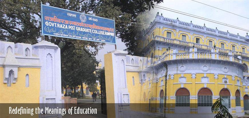 Govt  Raza PG College, Rampur